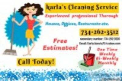 Karla s Cleaning Services.
