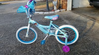 "16"" Frozen Bike with training wheels"