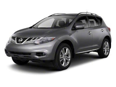 2012 Nissan Murano S (Brilliant Silver Metallic)
