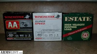 For Sale/Trade: 410 ammo