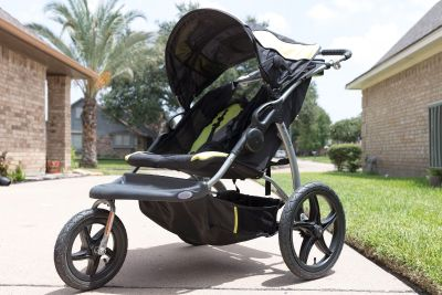 Like new Baby Trend Expedition Double Jogger Stroller
