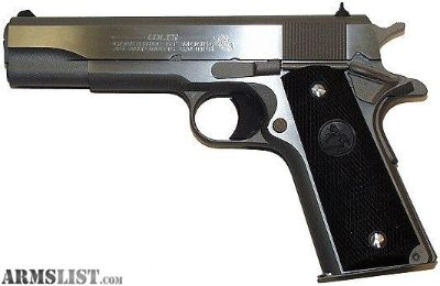 Want To Buy: Colt .38 Super
