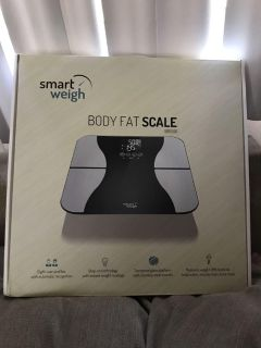 Body Fat Weight Scale