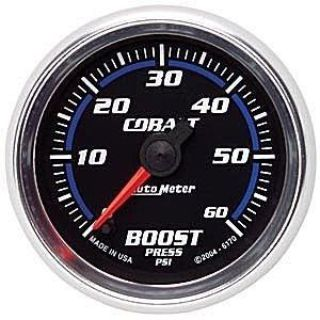 Buy Autometer 2in. BOOST; 0-60 PSI; FSE; COBALT motorcycle in Acworth, Georgia, US, for US $200.06