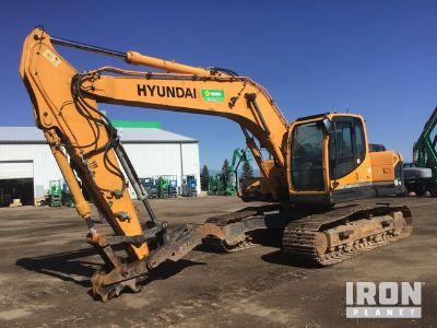 2012 Hyundai R210LC-9 Track Excavator