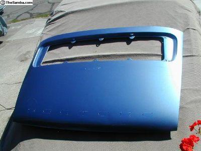 Aluminum Decklid '70 - '71 S Model