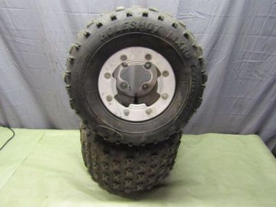 Buy 2007 Honda TRX450ER TRX 450 450R 400ex 250r Rear Wheels ITP C2 BeadlocksB15 motorcycle in Stafford Springs, Connecticut, United States, for US $124.99