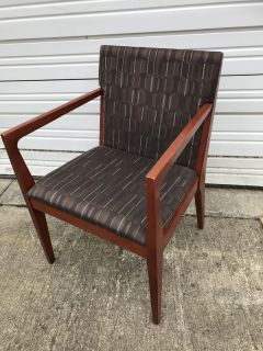 Kimball Cherry Wood Guest arm chairs, qty.6