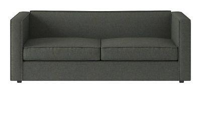 Charcoal Club Sofa
