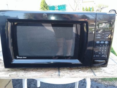 Excellent condition barely used microwave