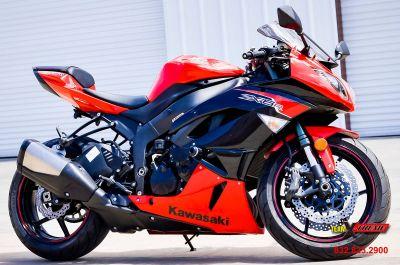 2012 Kawasaki Ninja ZX -6R SuperSport Motorcycles Houston, TX
