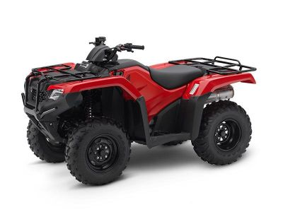 2017 Honda FourTrax Rancher 4x4 Utility ATVs Crystal Lake, IL