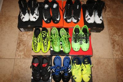 Youth Soccer Cleats, Football Cleats, Baseball Cleats