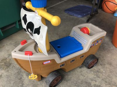 FREE Little Tikes Pirate Ride-On Toy