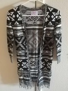 Girls size 8 Justice Cardigan
