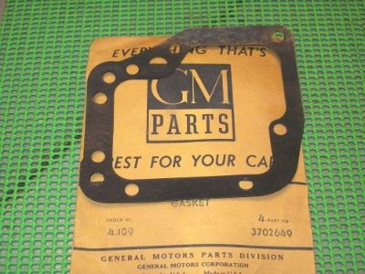 Purchase 1953-62 Corvette Chevy Car NOS GM PG Trans Housing LH SIDE COVER GASKET 3702649 motorcycle in Fairmount, Georgia, United States, for US $7.95