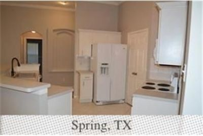 Spring, Great Location, 3 bedroom House. Washer/Dryer Hookups!