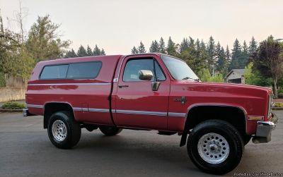 1987 CHEVY SILVERADO K30 4x4 454 BIG BLOCK