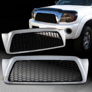 Find For 2005-2011 Toyota Tacoma Black & Chrome Front Hood TR-D Style Grille Grill motorcycle in Walnut, California, United States