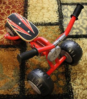 metal ride-on toy