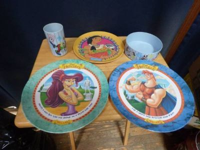 Disney Plastic Dishes