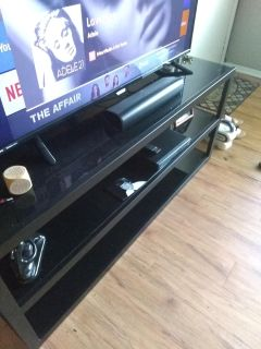 Brand new tv stand holds 60 in today only