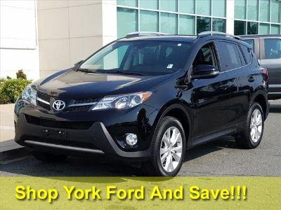 2015 Toyota RAV4 Limited (black)