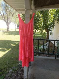 Candie's Pink High-Low Dress