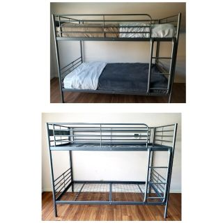 Twin BUNK BEDs w/Bedding or ONLY Frames