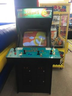 The Simpsons Arcade Game RTR# 9023897-01