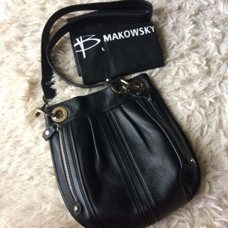 B. Makowsky glove leather crossbody