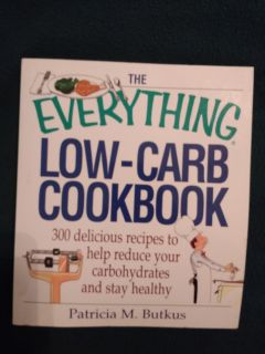 Everything low carb cookbook