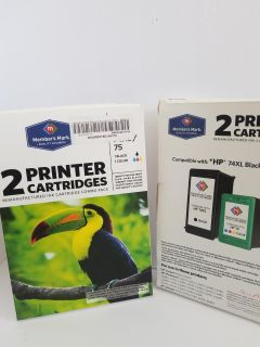 Members Mark Remanufactured InkJet Catridge Combo Pack (Black and Color)