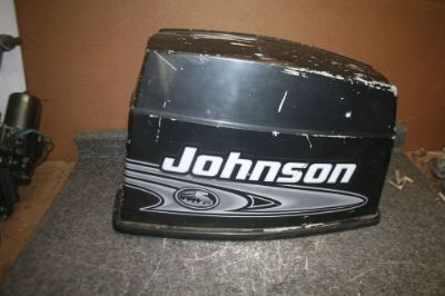 Find USED 70 HP 3 CYLINDER JOHNSON top COWLING HOOD motorcycle in Scottsville, Kentucky, United States, for US $39.00