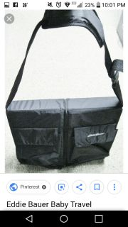 Eddie Bauer portable changing table and bassinet