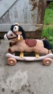 BABY RIDE ON HORSE