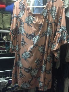 Off the shoulder dress size Large