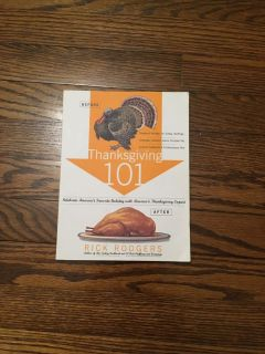 Thanksgiving 101 cookbook with wonderful recipes!! Good condition. Gallatin unless going to H ville.