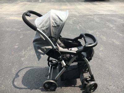 Stroller with reversible handle
