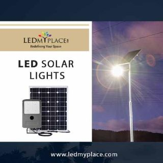 Switch to LED solar lights as the most Ideal Outdoor Lighting system.