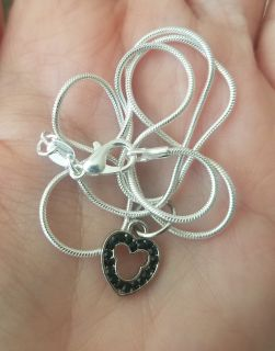 925 Silver Mickey Mouse necklace