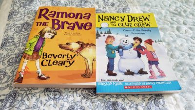 2 Early Readers Chpt Books