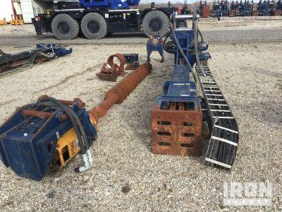 PG S-10 Excavator Drill Attachment