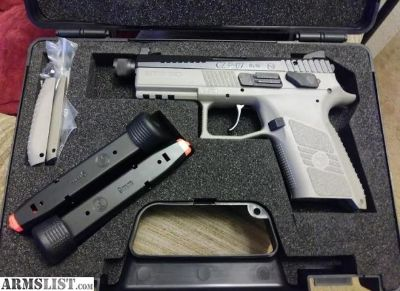 For Sale: CZ P07 Supressor Ready *New*