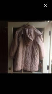 ADORABLE MULBERRY LANE hooded coat, SO warm! Great looking colors, so flattering! Sz L