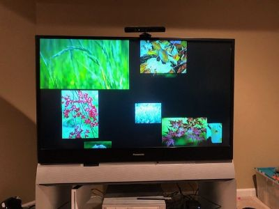 55 Inch Panasonic Projection Screen TV