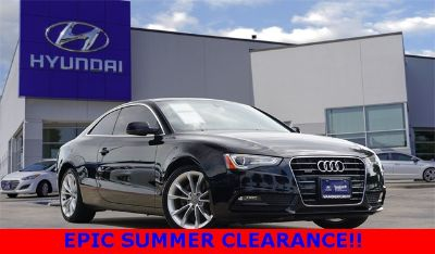 2014 Audi A5 2.0T quattro Premium (Phantom Black Pearl Effect/Brown Roof)
