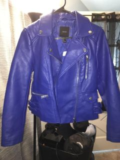 Forever 21 leather jacket (NWT)