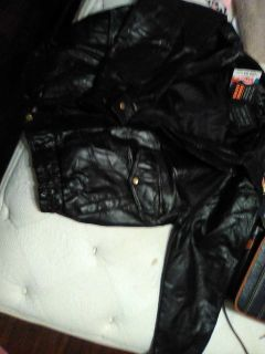 Leather jacket never worn tags still on it