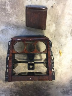 WTB: wood grain HVAC face plate